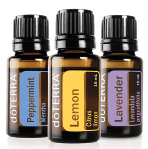 Did you know that you can use lemon, lavender and peppermint essential oil to help with your allergies?