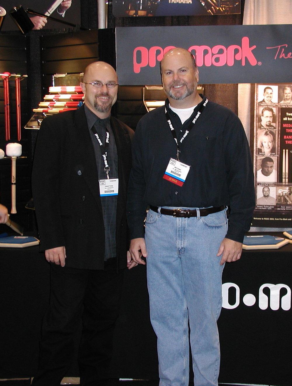 Edward and Matt Savage, PASIC 2003
