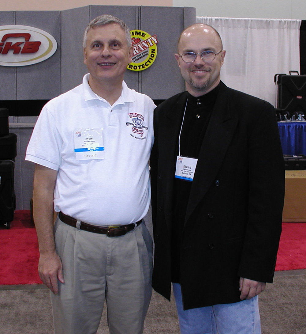 Edward and Mitch Markovich, 2002