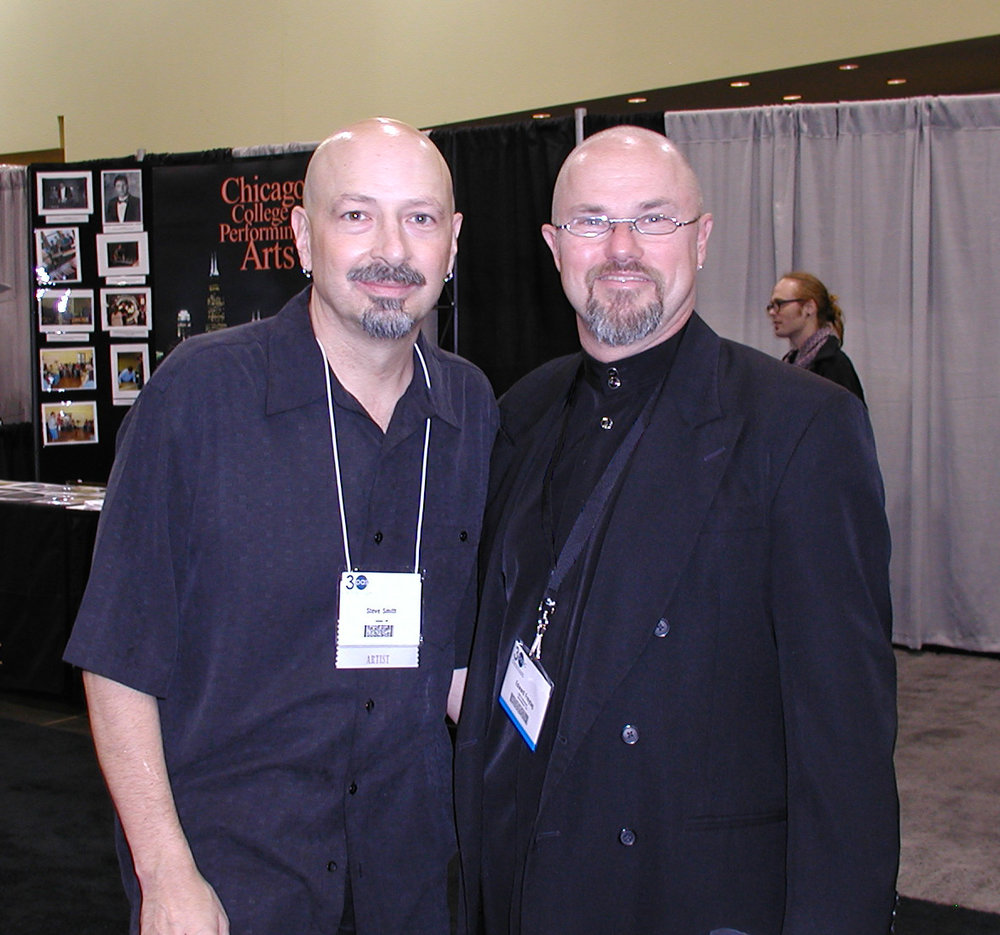 Steve Smith and Edward at PASIC 2005