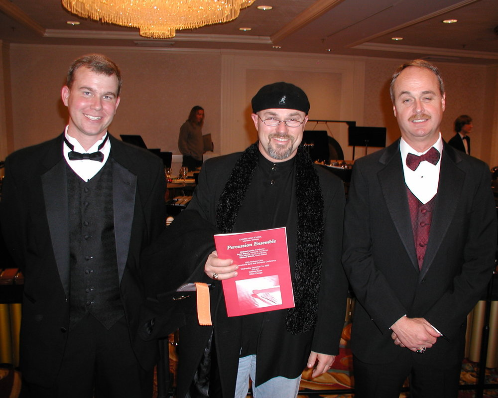With Mike Lynch and Scott Brown at Chicago MidWest, 2005