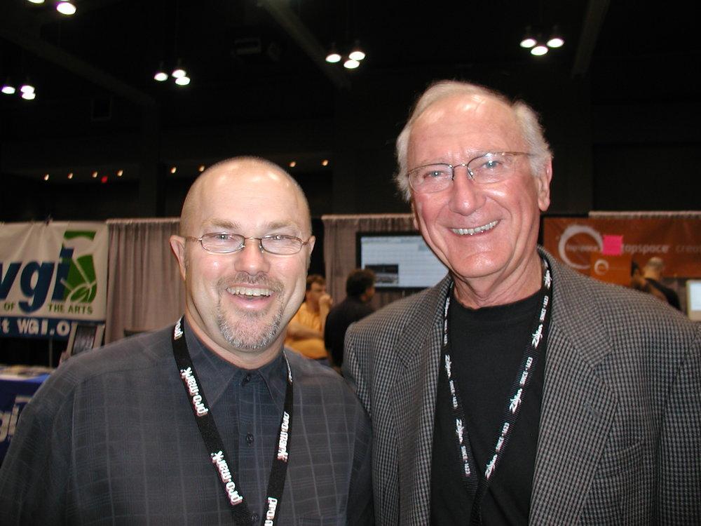 Edward and John Beck at PASIC, 2006