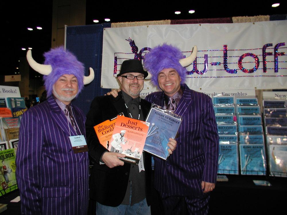 RowLoff meeting at TMEA, 2011