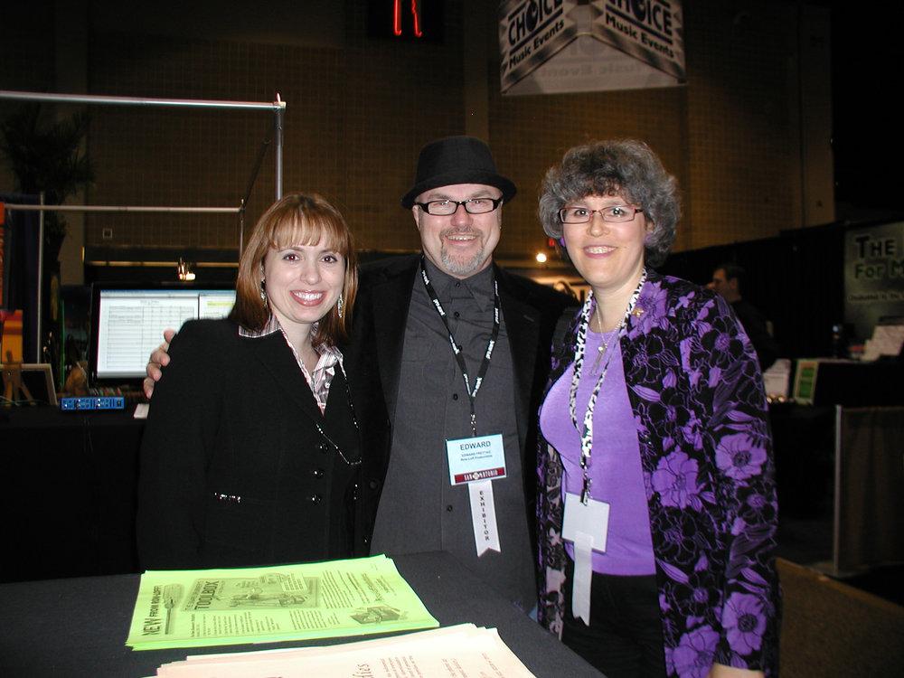 Edward and Lauren Vogel Weiss in Texas, 2011