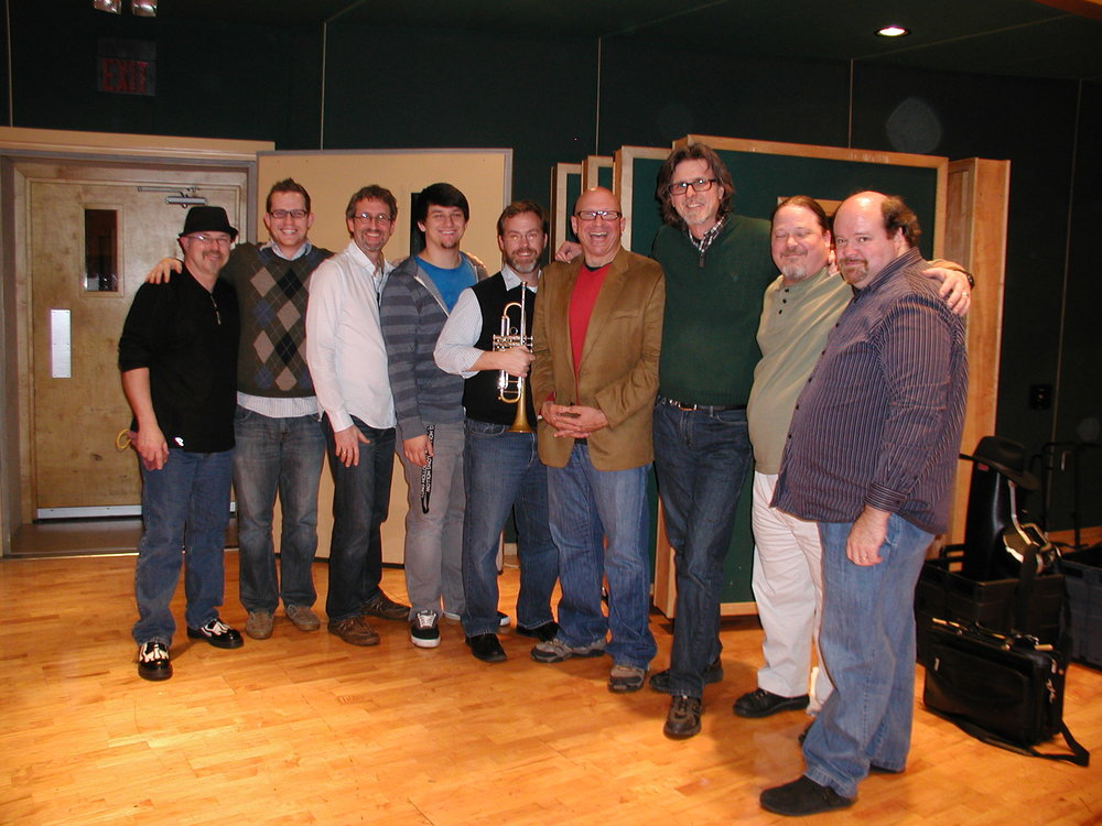 The Ultimate Recording Project Staff for Lee University Project, 2012