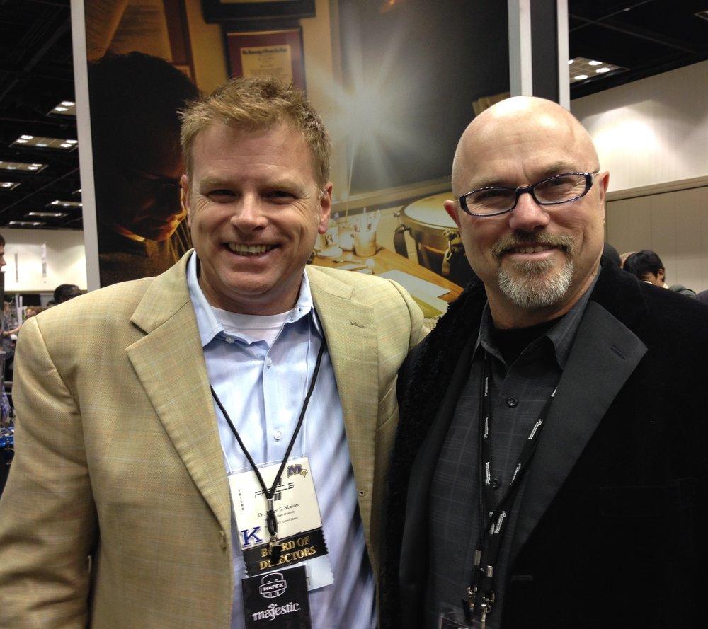 Edward and Brian Mason, 2013