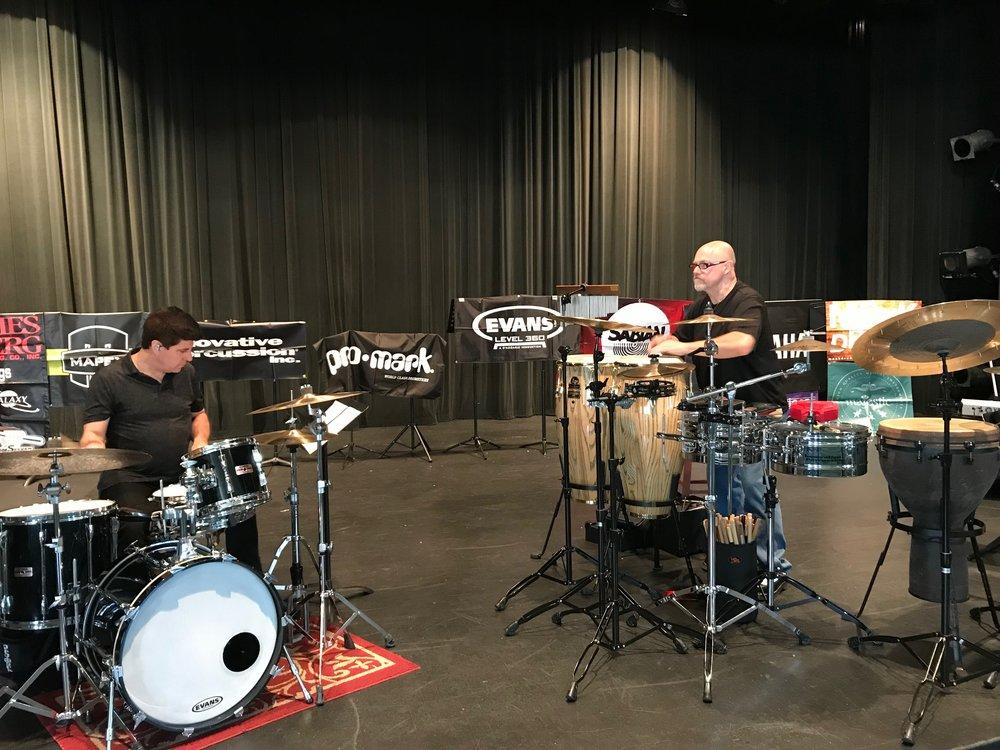 William Ellis & Edward @ Littlestone Music Camp, July 2018