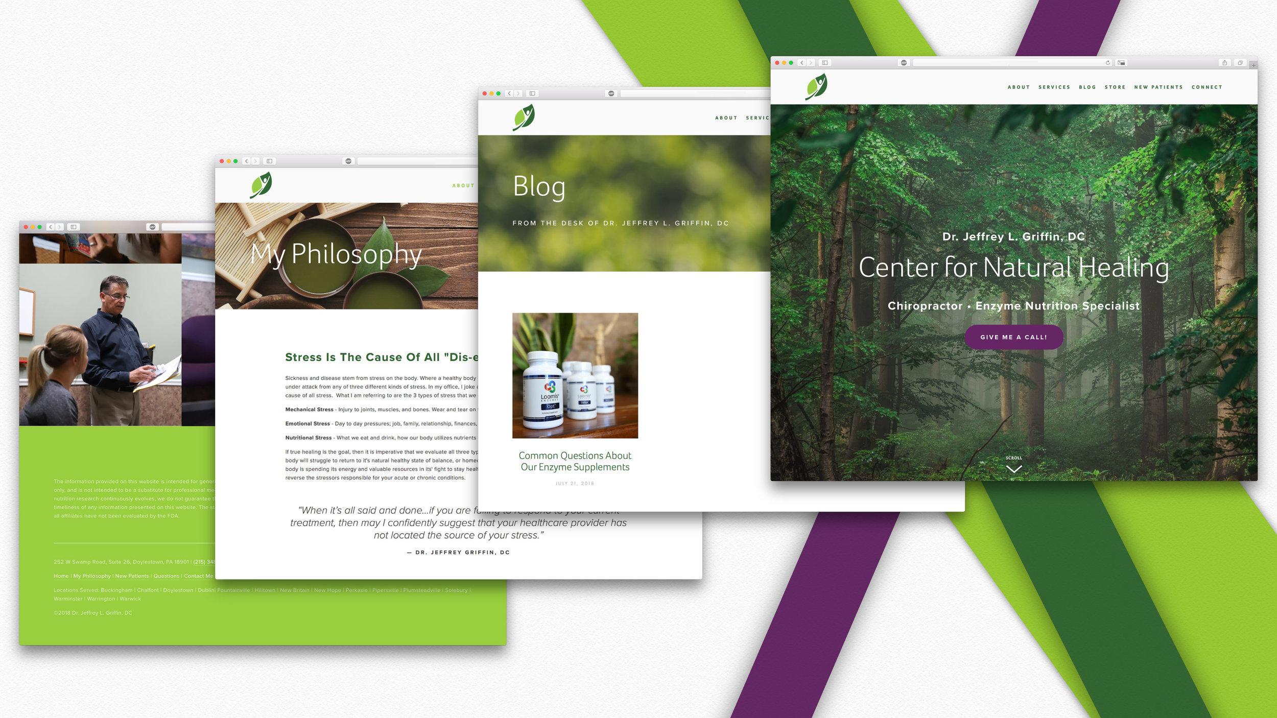 Designing Our New Website — Dr  Jeffrey L Griffin | Center