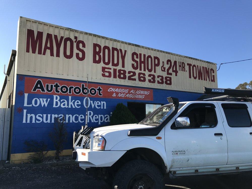Mayos body shop.JPG