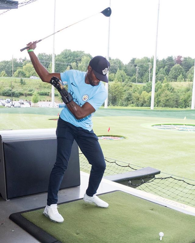 2018 Top Golf Champion. I had to turn down the Ryder Cup due to a schedule conflict. 🤷🏿♂️ Also support the great work by Steve Smith, one of my favorite people and best WRs of all time, through his @stevesmithfdn.
