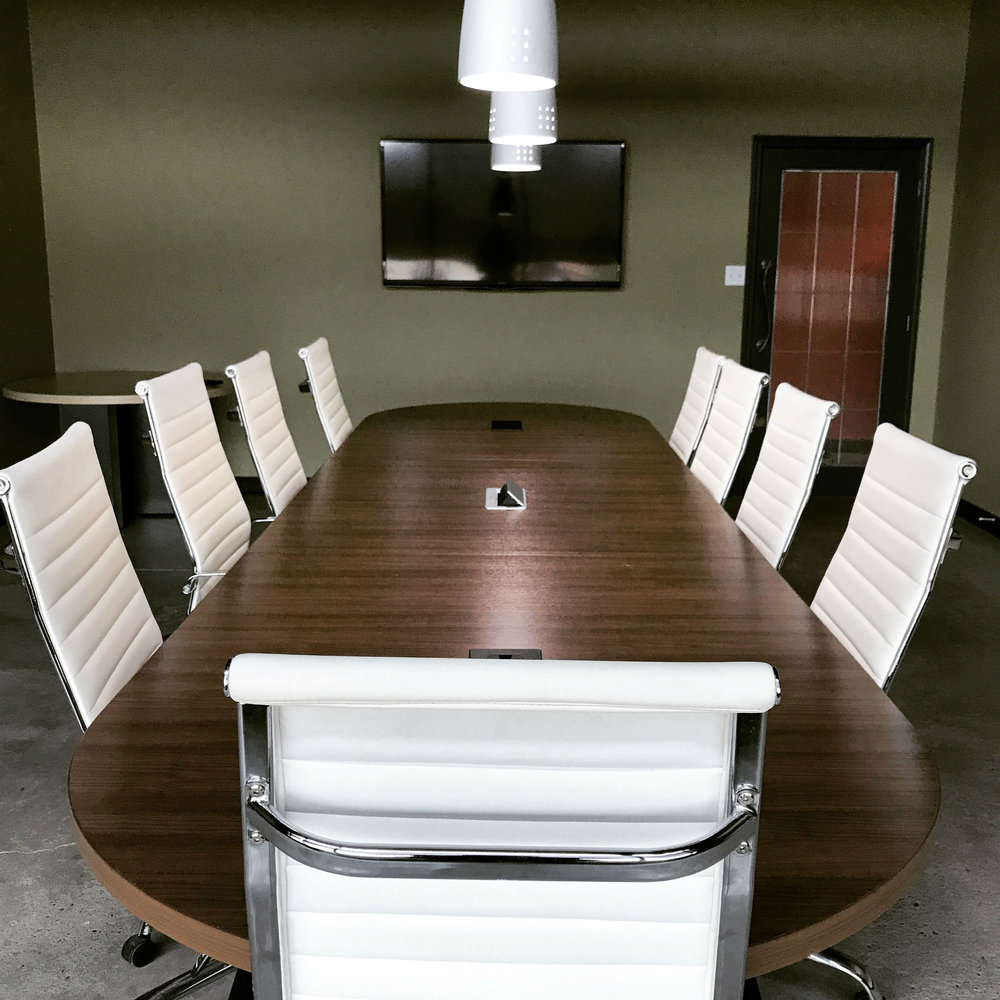 Boardroom - Seating for up to 16 people