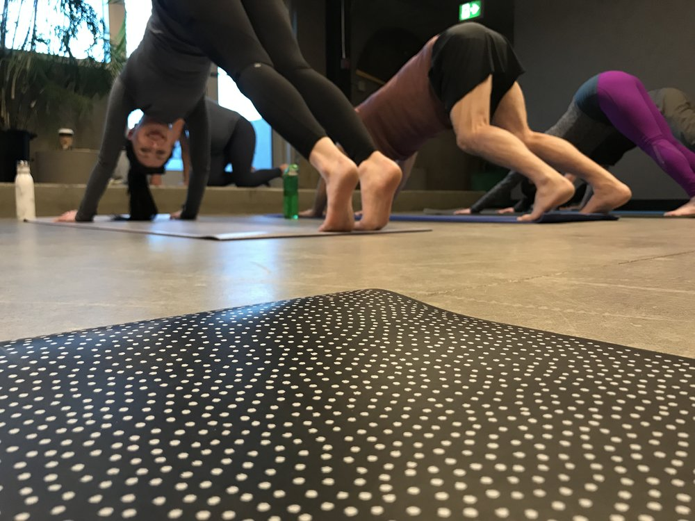 YOGA at URBN - Join us on Mondays 7-8pmBYOMURBN Members FREE$15 Drop-InReserve your spot today!Email: heather@urbncowork.ca