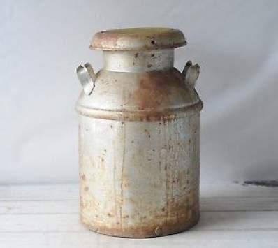 vintage milk pail