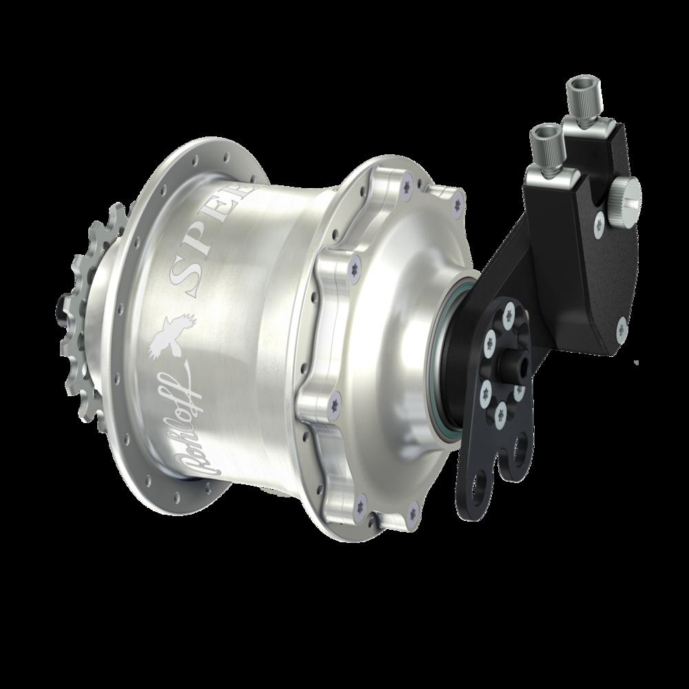 Rim brake specific hub-cap