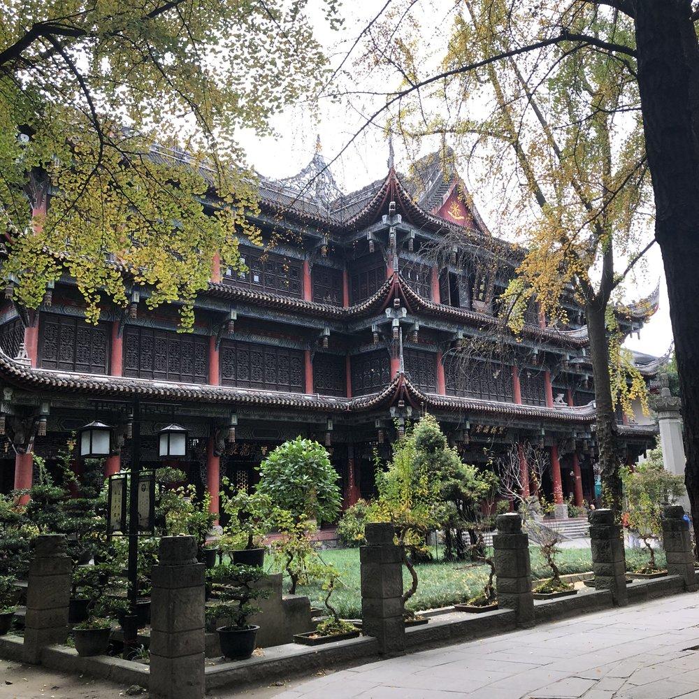 Wenshu Temple, Chengdu
