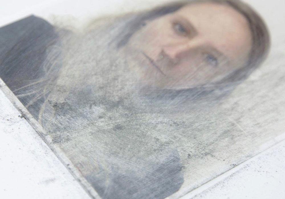 Self Dissolve - Dexter RosengroveSelf Portrait #1 (2017)Digital Photograph