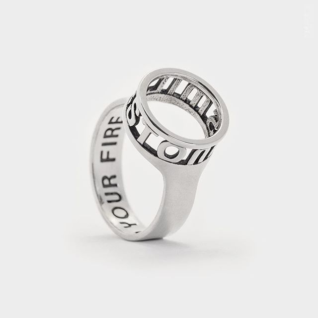 //hidden message open circle ring. stunningly crafted in #sterlingsilver // @p3ppersdesigns on instagram. . . . . #rings #3dprinted #etsy #p3ppersdesigns #jewelry #jewels #jewel #fashion #gems #gem #gemstone #bling #stones #stone #trendy #accessories #love #crystals #beautiful #ootd #style #fashionista #accessory #instajewelry #stylish #cute #jewelrygram #fashionjewelry #etsyshop