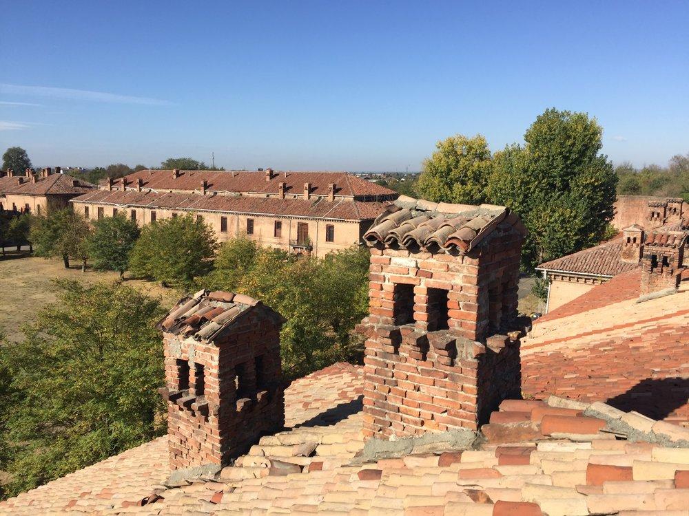 La Cittadella di Alessandria, un forte del 1700.