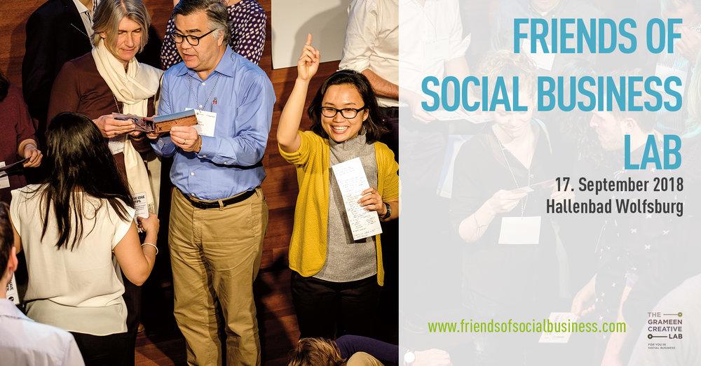 Sehen Sie hier das Best of des Friends of Social Business Forum, das am 15.-16.06.2018 in Wiesbaden in der R+V Akademie stattgefunden hat.  Das Forum wurde veranstaltet von R+V Versicherung und Grameen Creative Lab.