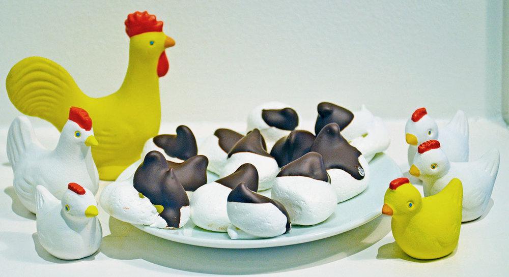 chokladdoppade maränger