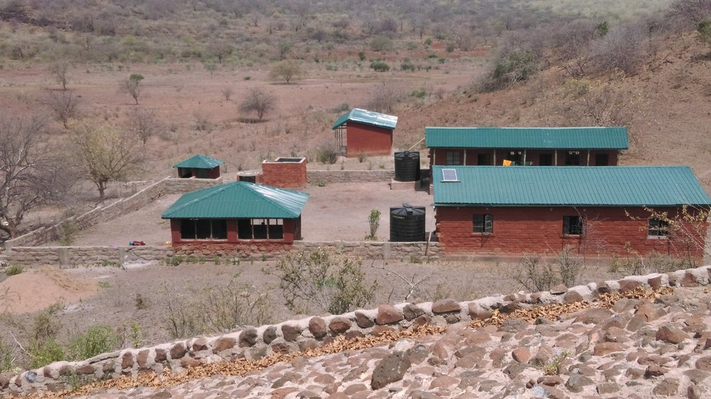 Songa Conservancy HQ & the ill-fated water tanks