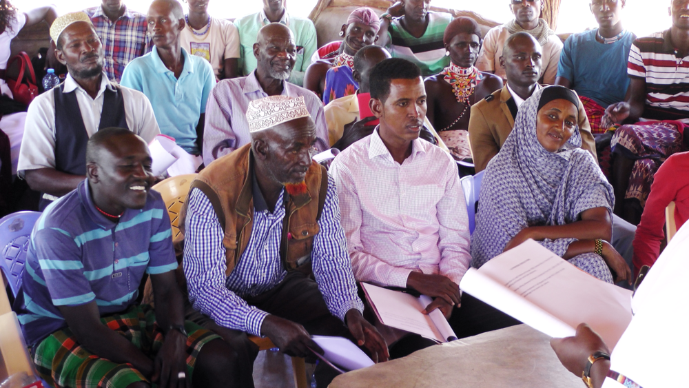 SACCO members from 17 community conservancies across Isiolo, Marsabit, Samburu, Tana River and Laikipia counties attended the ADM