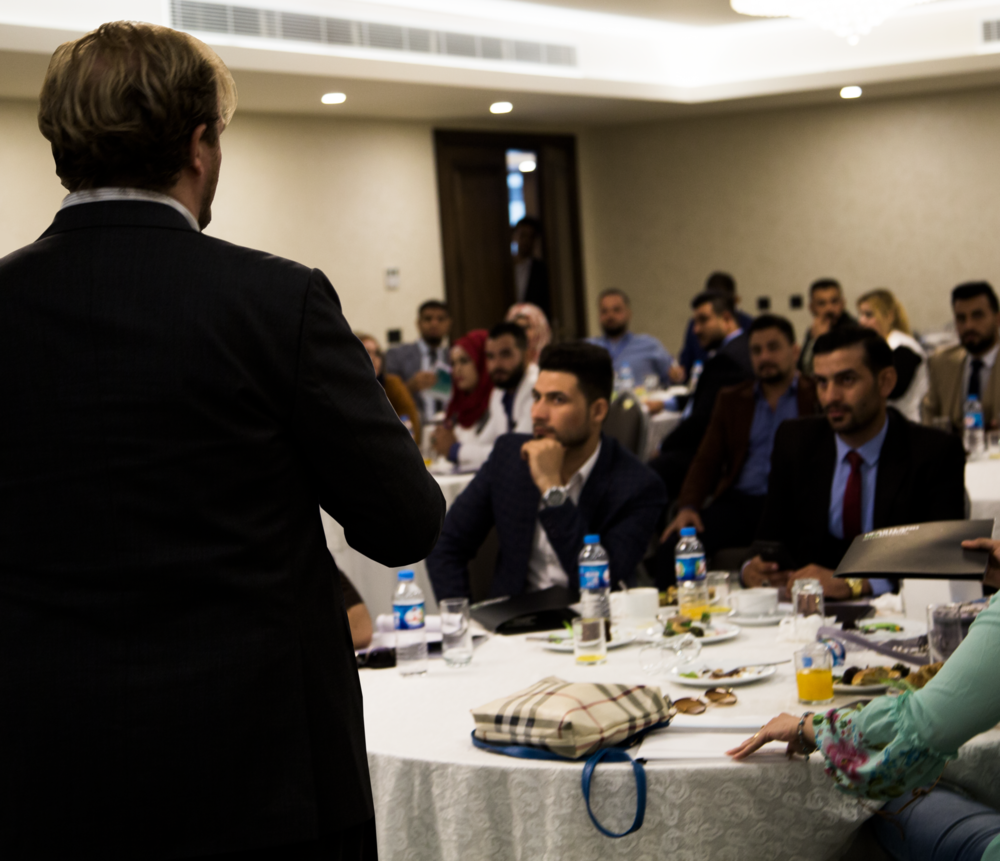 Trauma-Informed Interviewing - ITIM's expert international team trained over 150 lawyers from the Iraqi Bar Association in the principles of trauma-informed interviewing. Trauma-informed interviewing is an evidence-based approach which recognizes the effects of psychological trauma and equips professionals with the skills to empower people to provide more consistent and comprehensive information.