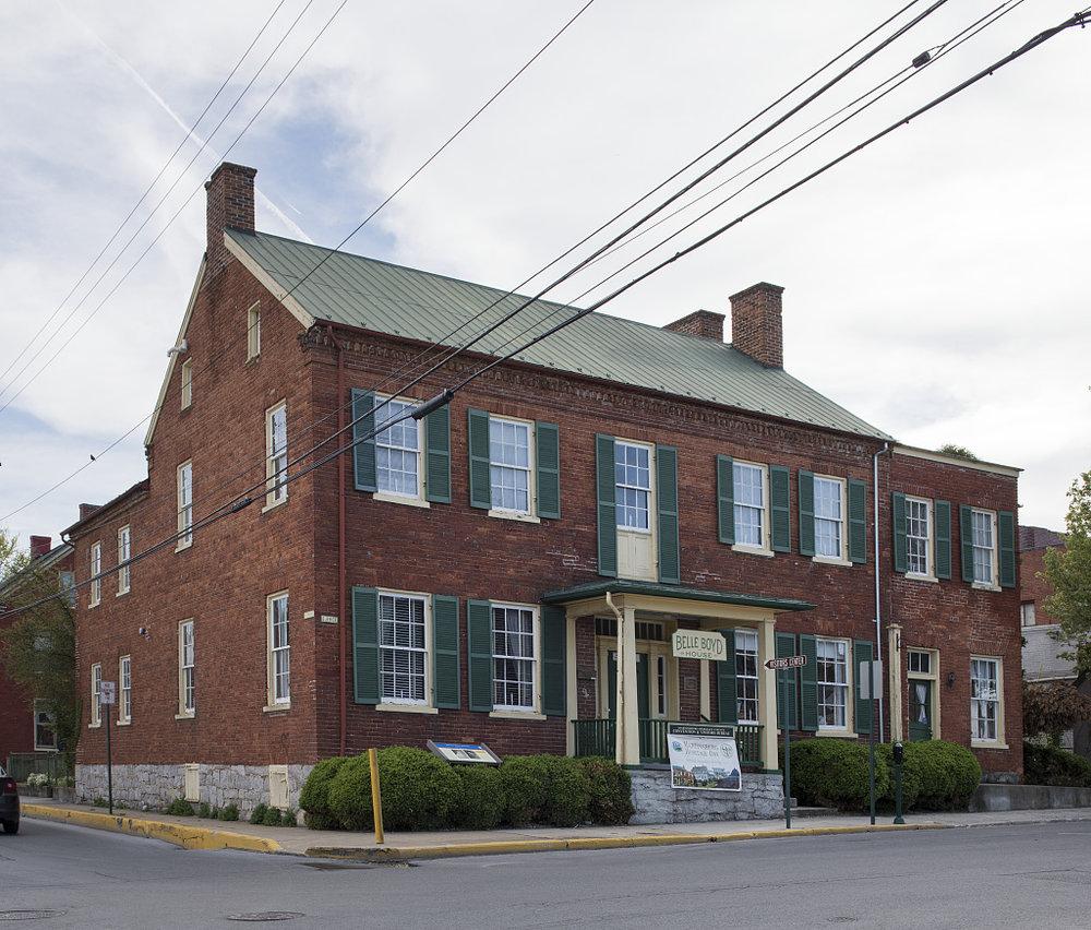 Belle Boyd's house