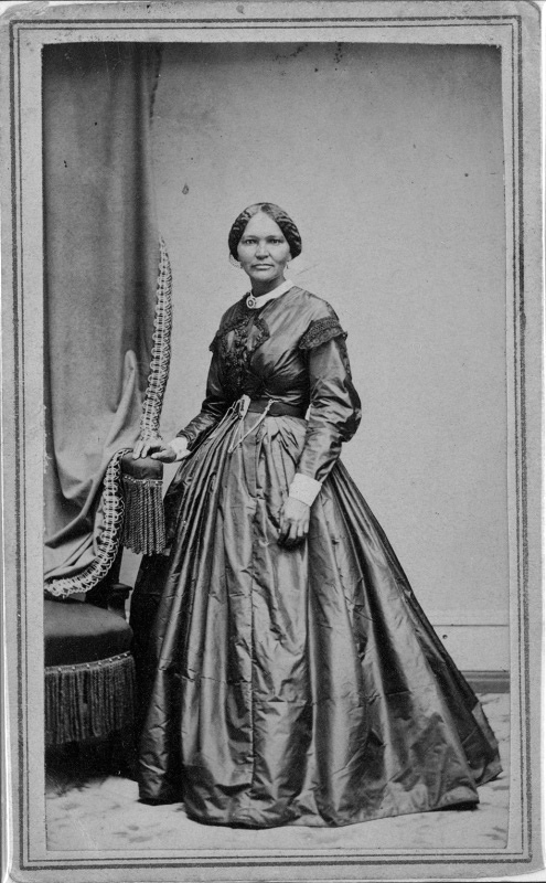 Elizabeth Keckley, looking classy and incredibly stylish in a dress she probably made herself. - Wikicommons
