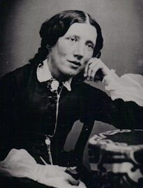 Young Harriet Beecher Stowe, dreaming big dreams (Wikicommons).