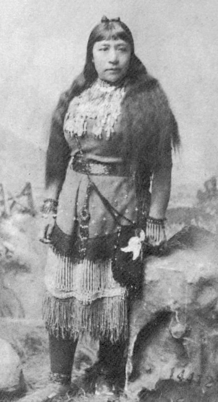 The fab Sarah Winnemucca, who thought that if white women would just step up to the plate on indigenous rights perhaps they could get some shit done. - Wikicommons