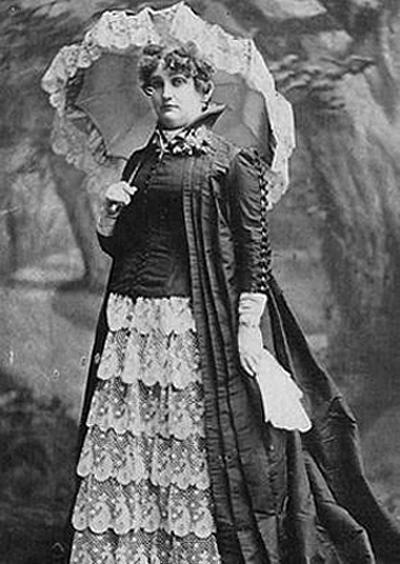 """I went into the sporting life for business reasons and for no other. It was a way in those days for a woman to make money and I made it."" - - Mattie Silks. Wikicommons"