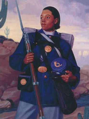 7. the undercover soldier:Cathay Williams - Wikicommons