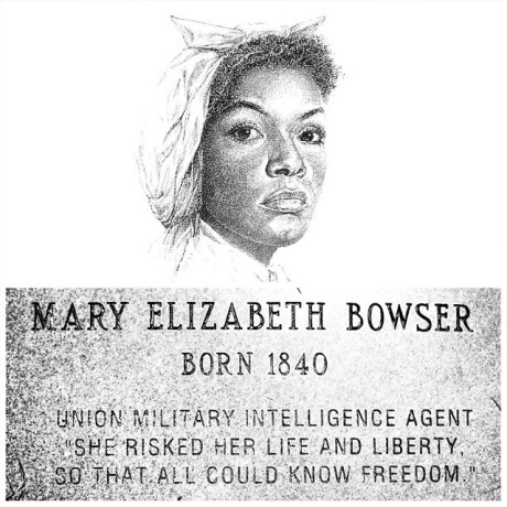 8. the hardcore spy:Mary Bowser - Wikicommons