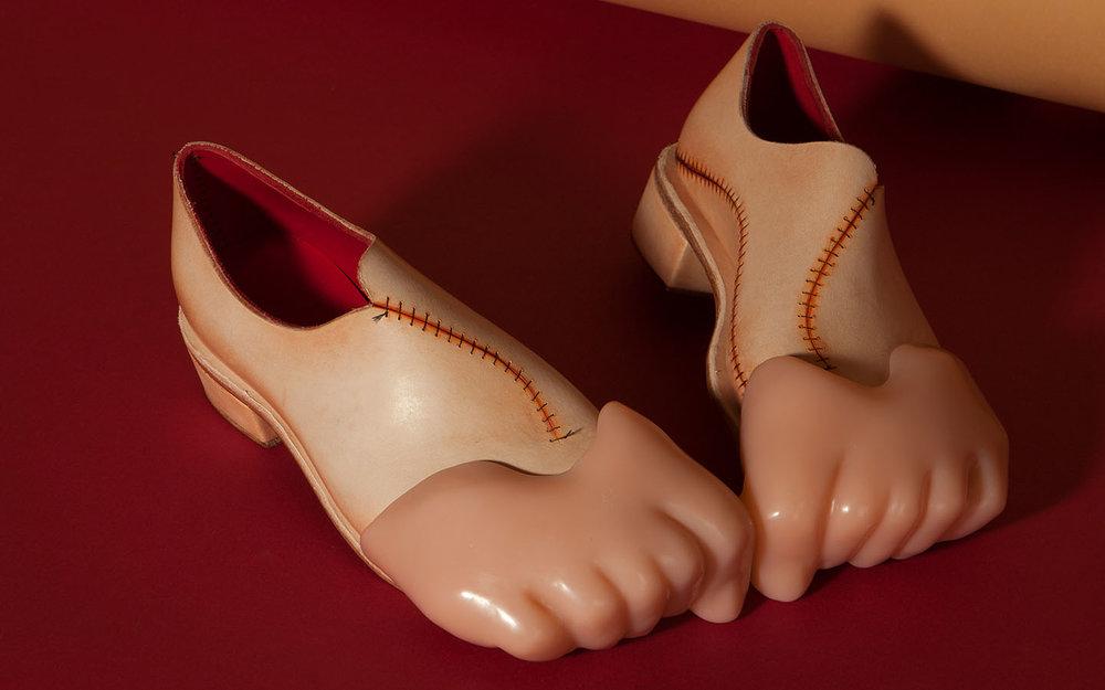 Hye Kim - Empathetic Footwear as objet d'art