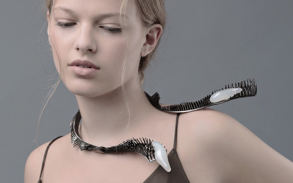 Kally Liu jewellery - Pushing the limit of wax 3D printing