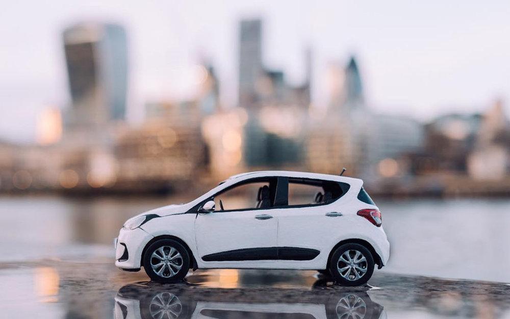 Hyundai uk - Little Car Big City
