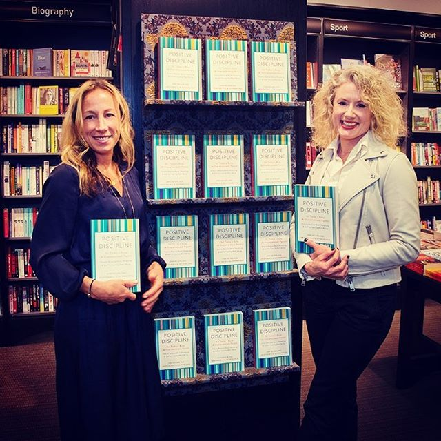 A successful book 📚 talk last night @waterstones in Chiswick. The manager said it was the most interactive book talk she's ever seen. Of course it was, that's the magic of Positive Discipline!  So wonderful to be with my dear friend and co-author @kristina.bill to share this amazing journey.  We missed you @janenelsen and wished you could have been with us to celebrate this amazing gift.  Thank you to everyone that came out to support us  @positivedisciplineuk  @positivediscipline  #bookstagram #parenting #parents #booklaunch #lifelessons #learning #busyworkingmum #waterstones #booktalk #interactive #parents #chiswick #bucketlist #hopethishelps #positivedisciplinefortodaysbusyparent #thanks #feelingblessed