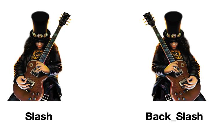 Slash vs Back_Slash
