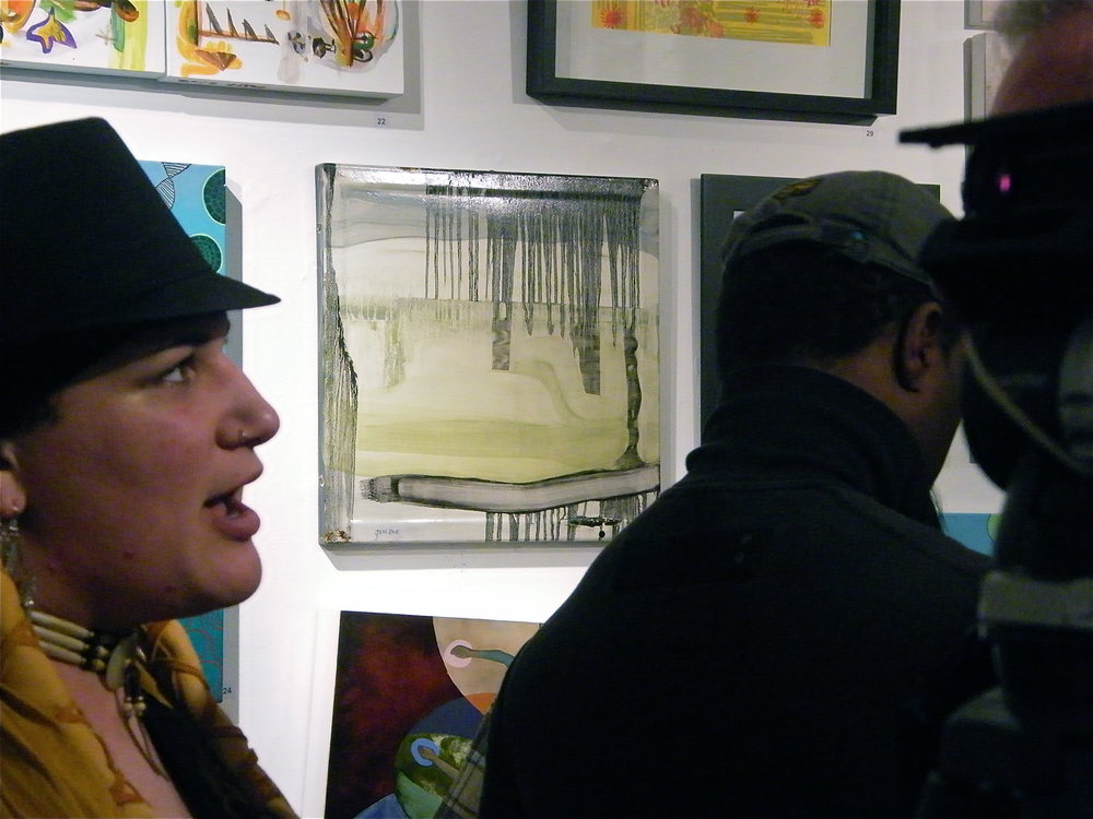 - Space Womb Gallery, SQUARE group show. March 2013, New York City USA