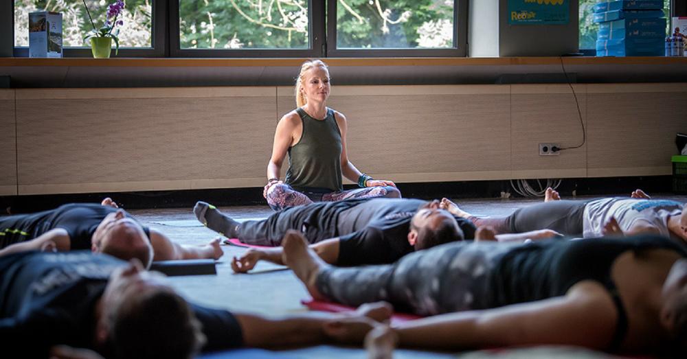 Fitness Blogger Konferenz, Yoga