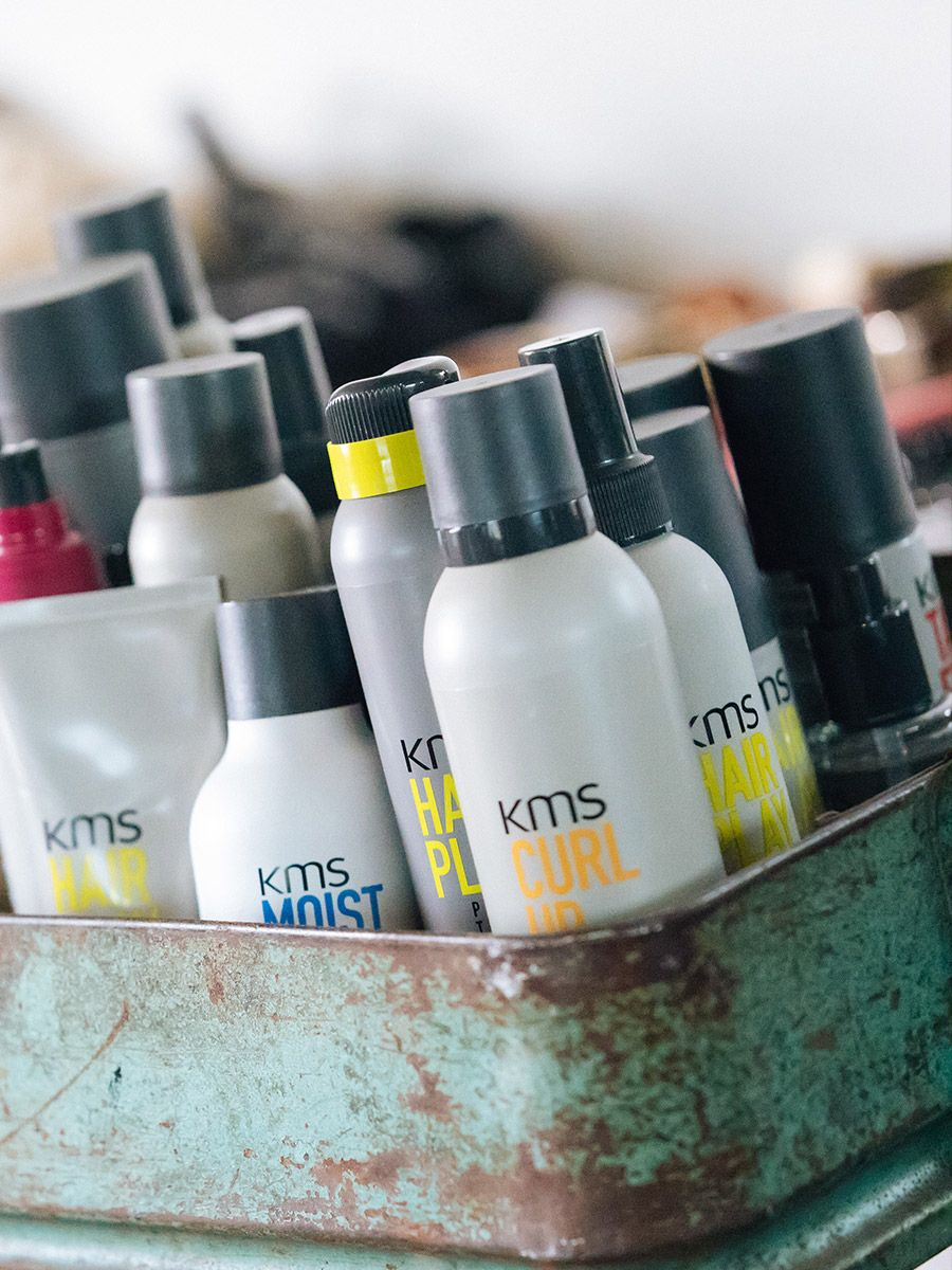 KMS HAIR - Inspired by styles seen in Urban Fashion Districts around the world, from street style to runway, KMS products are on the cutting edge of global style.