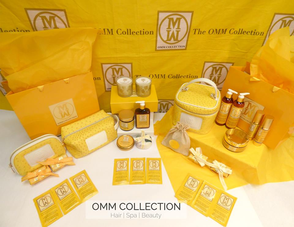 OMM COLLECTION - OMM Collection is a luxury hair and spa line made with all natural, pure ingredients with luxury and elegance in mind.