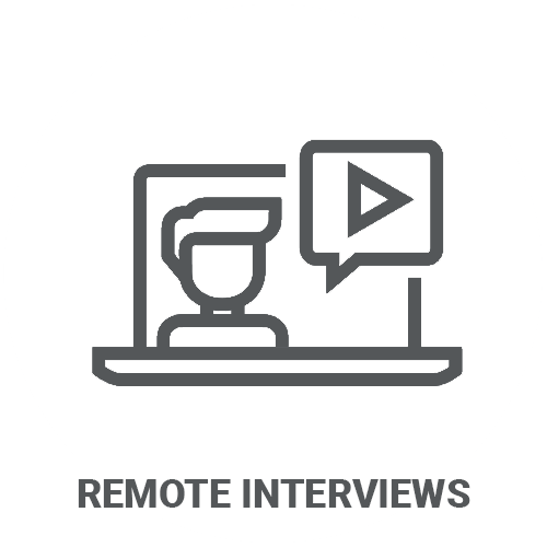 Remote Interviews and Immersions