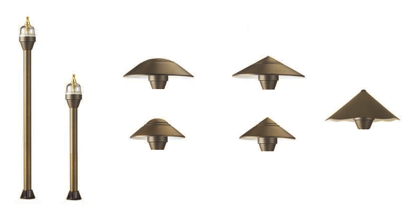BRIO (BRASS) PATHLIGHT SERIES