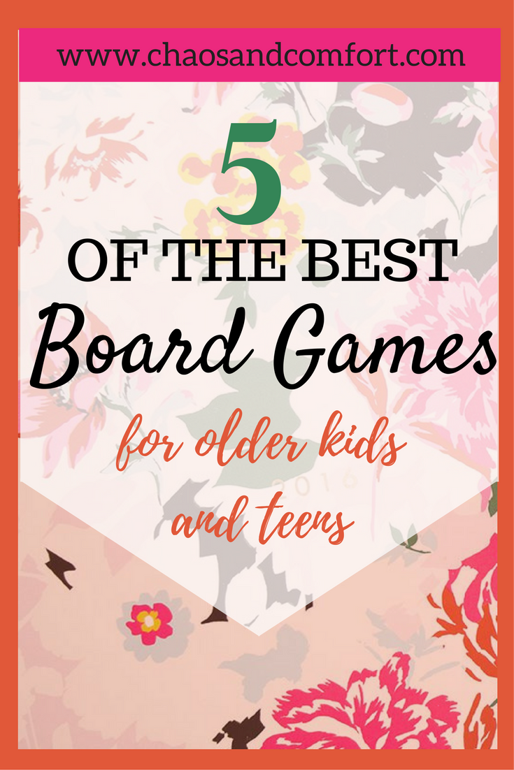 5 of the best board games for older kids and teens