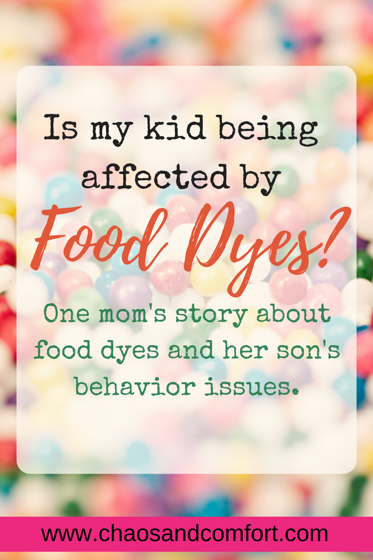 Kids and food dyes