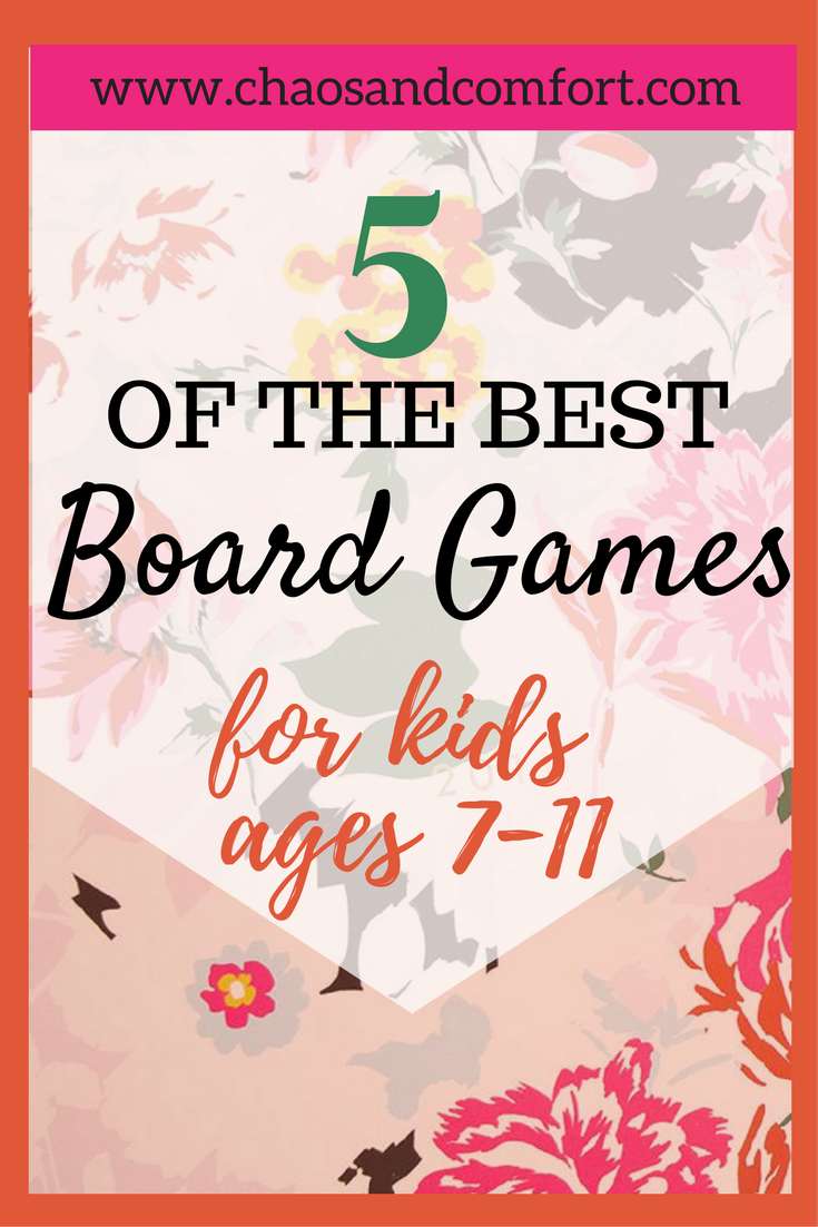 5 great board games for ages 7-11