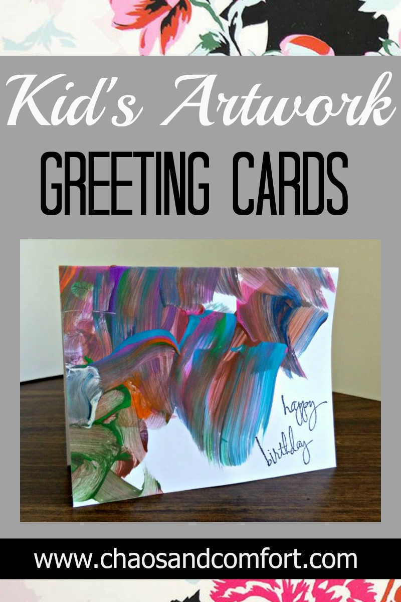 Kids Artwork Greeting Cards