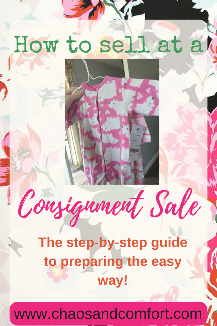 consignment sale selling